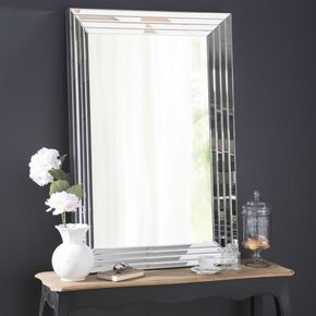 Espejo biselado Al 120 cm