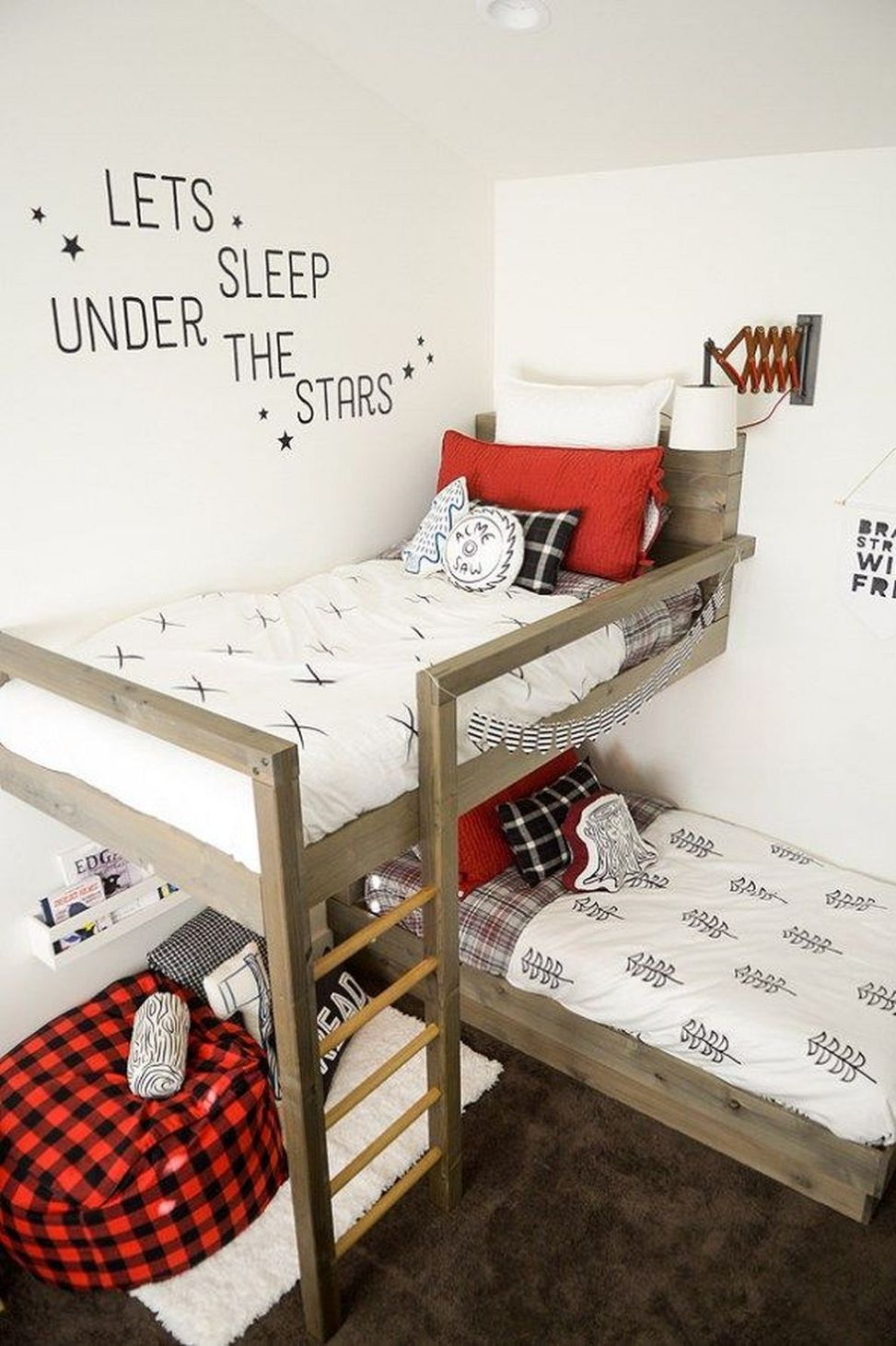 Stylish And Cozy Ideas Of Bunk Beds For Small Room Diy Bunk Bed