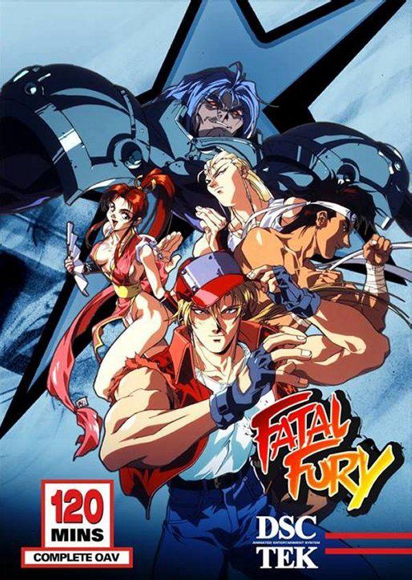 Fatal Fury Ova The New Battle Popular Anime Anime Fatal Fury Characters