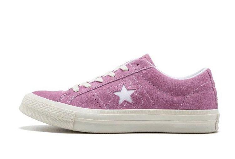 54c819c9408 Converse One Star x Golf le Fleur Bee Purple Suede Low  converse  shoes