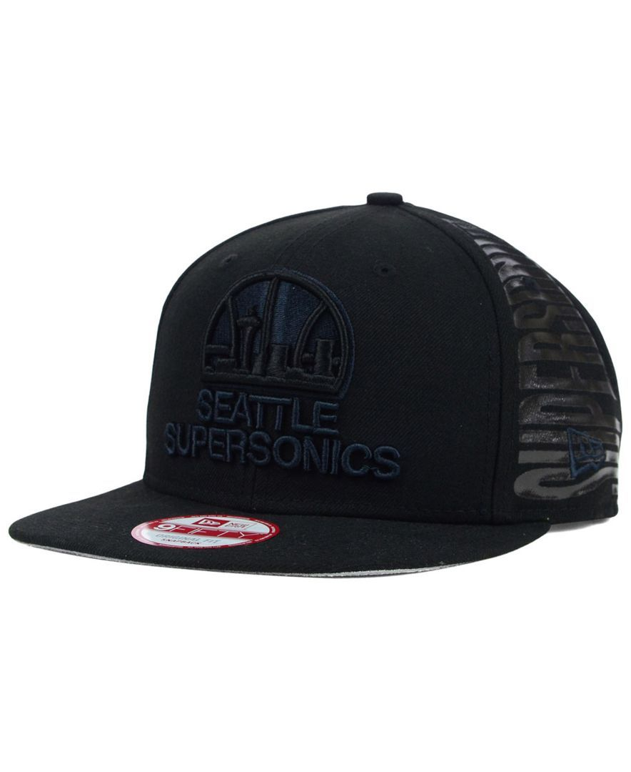 100% authentic bf5ff e1bd0 New Era Seattle SuperSonics Spark Side 9FIFTY Snapback Cap