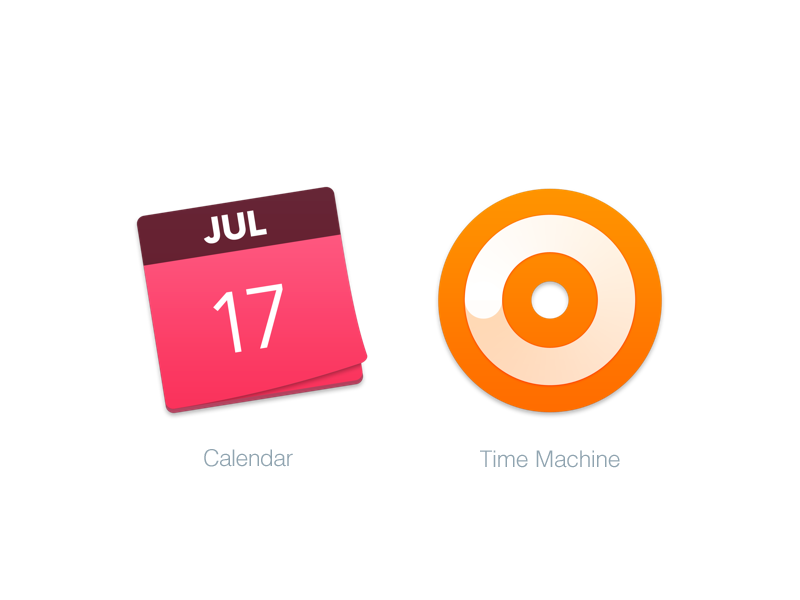 Mac Replacement Icons Calendar Time Machine Calendar Time Calendar Apple Icon