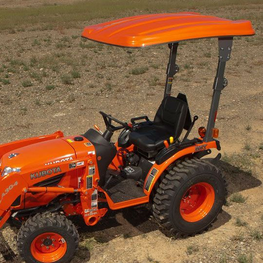 Fiberglass Canopy Kit For For Kubota Bx B Series Tractors