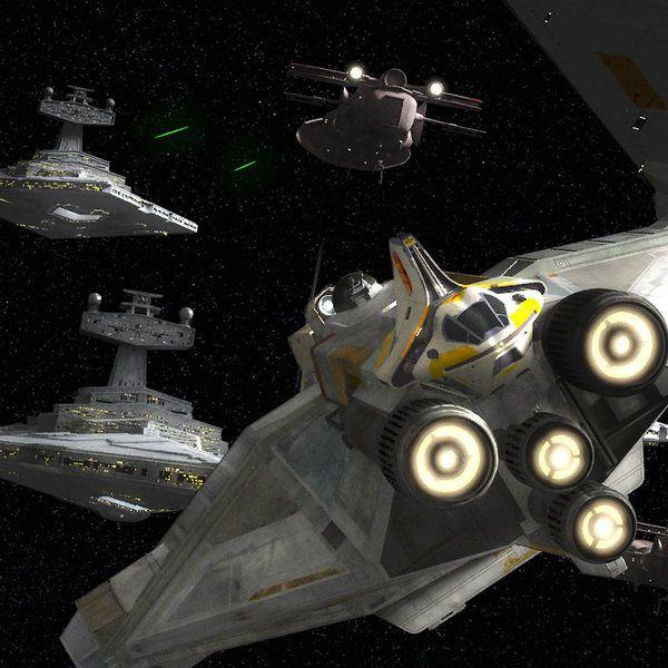 Star Wars Rebels Zero Hour The Ghost Star Ship Depicted Star Wars Website New Star Wars Star Wars Rebels