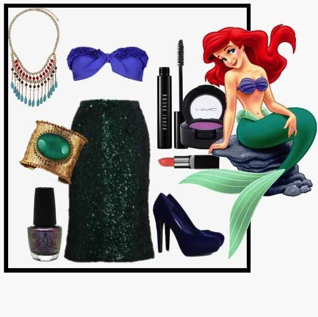 Ariel from The Little Mermaid | 8 DIY Disney Costumes