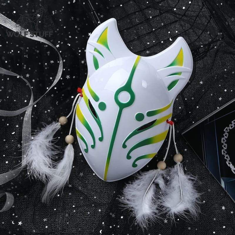 Photo of Anime Wolf Mask – Green