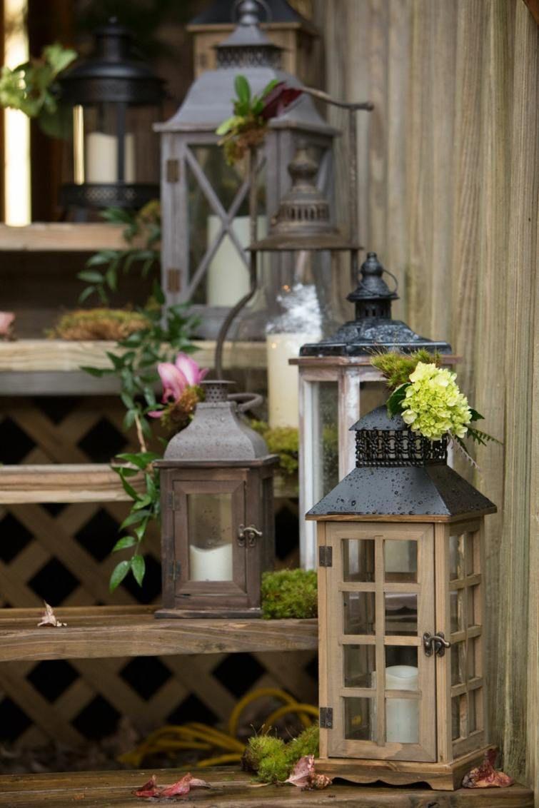 Lanterne jardin : 47 idées déco de jardin avec des lanternes ... on