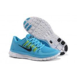 Nye Ankomst Nike Free 5.0+ Lysblå Grønn Unisexsko Skobutik | Nyeste Nike Free 5.0+ Skobutik | Populær Nike Free Skobutik | denmarksko.com
