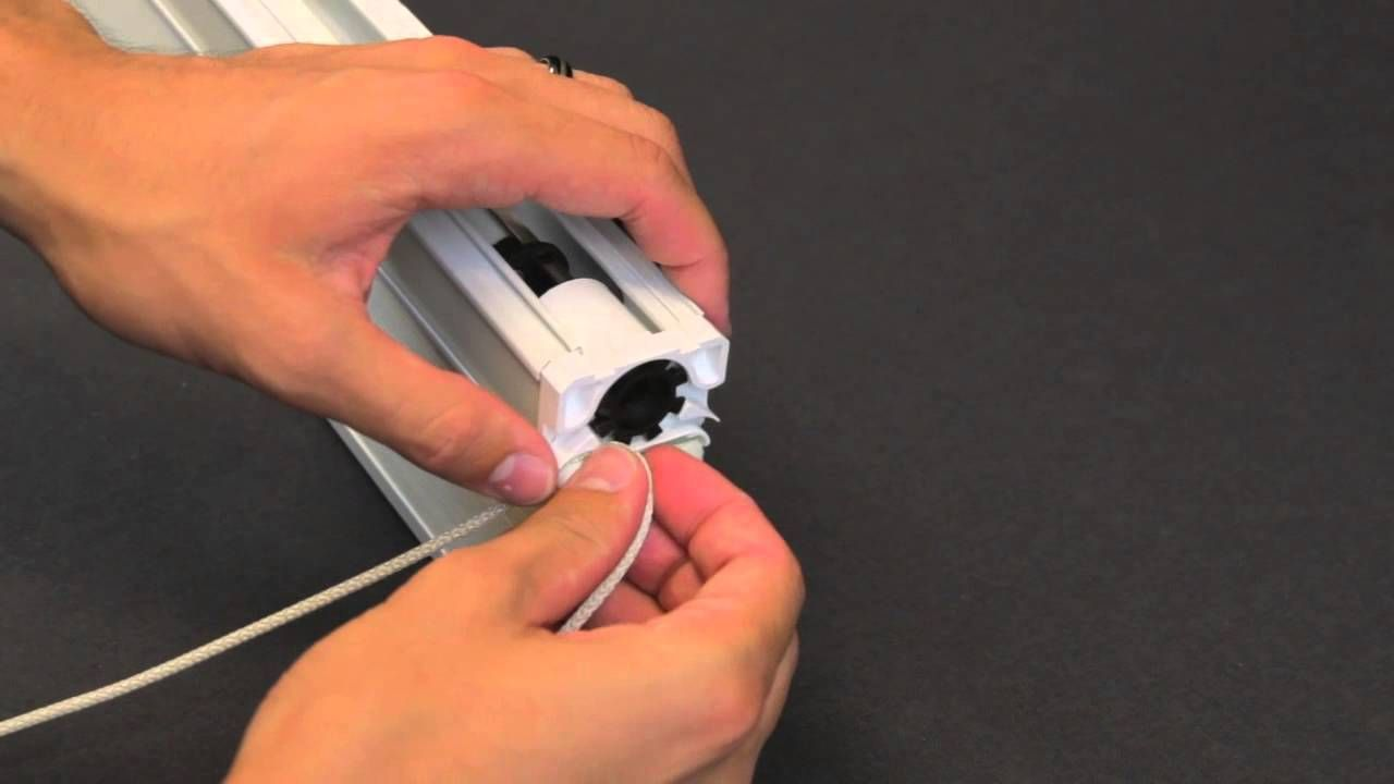 How To Replace A Cord Loop In An Ez Glide Honeycomb Cellular Shade Bali Blinds Shades Blinds Blinds