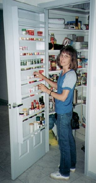 Need A Pantry With Door Spice Rack Like This One.
