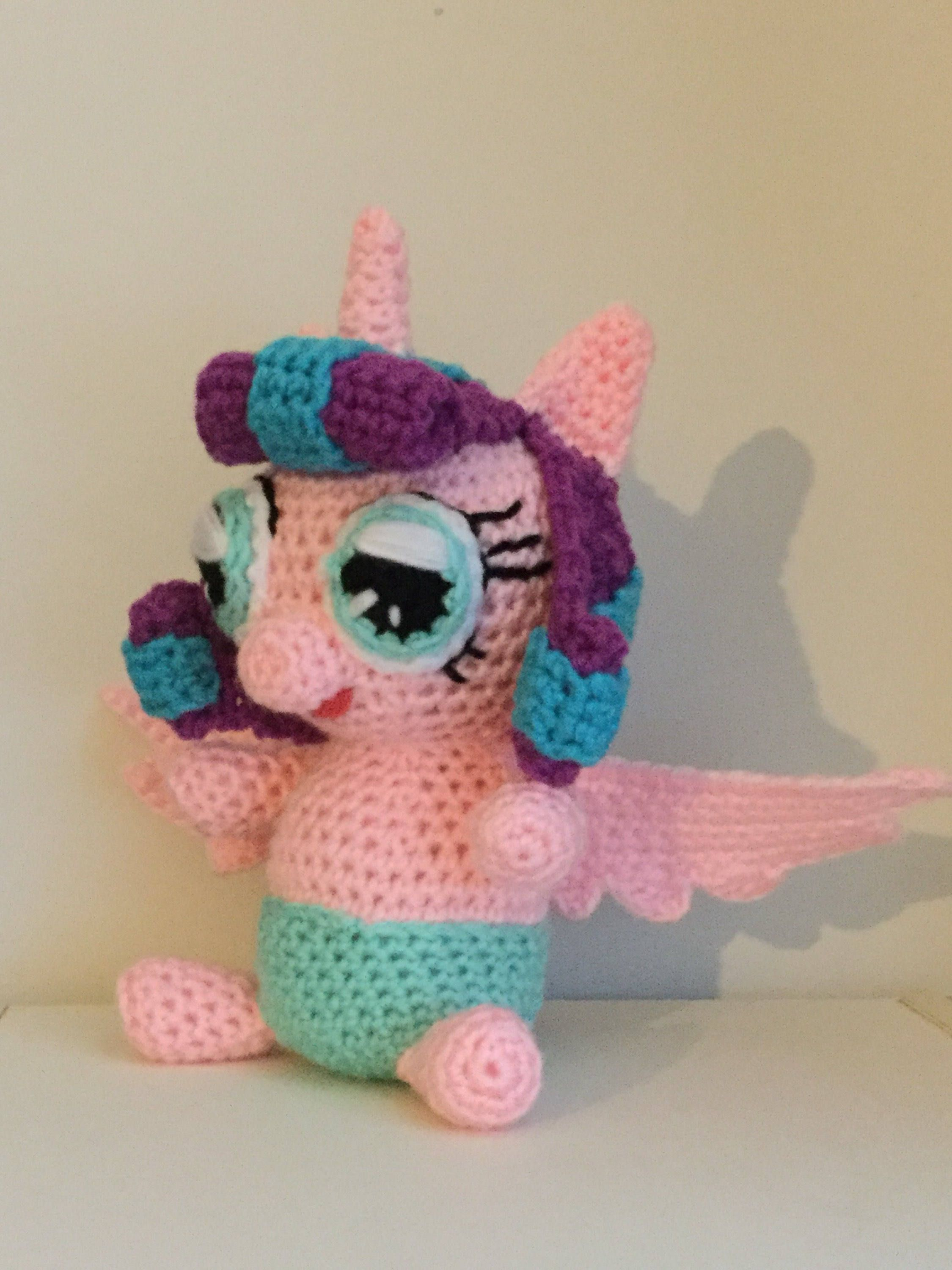 Made to order crochet amigurumi my little pony inspired baby pdf pattern for crochet amigurumi my little pony inspired flurry heart unicorn plush by shimmeree creations on ravelry bankloansurffo Gallery