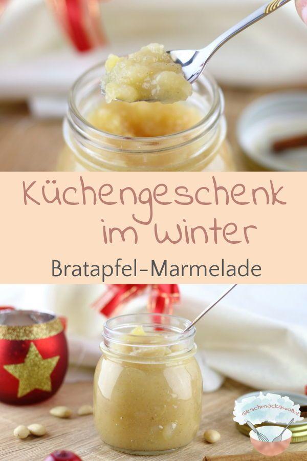 Winterliches Küchengeschenk: Bratapfel-Marmelade | Miss Fancy - Rezepte für jeden Tag