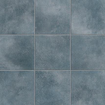 Crossville Tile S Color Blox Blue Suede Shoes Porcelain Mosaic Tile Tiles Mosaic Flooring