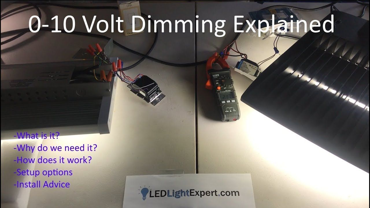 0 10v Dimming Explained What Is 0 10 Volt Dimming How Does It Work Led Ledbulbs Lightbulbs Led Parking Lot Lights High Bay Led Lighting Led Lights
