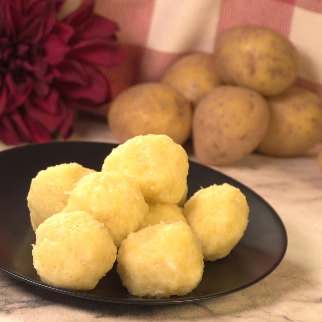 Halb-Halb Rezept für Kartoffelknödel