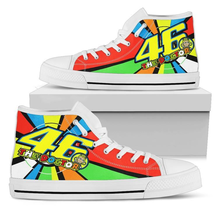 Valentino Rossi High Top Shoe Limited Edition - S05101 ...