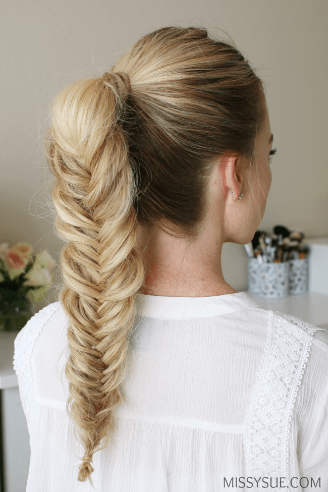 30 Fishtail Ponytail Hairstyles Formal Hairstyles Ideas Walk
