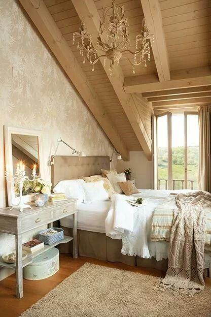 Un dormitorio romantico casa Pinterest Dormitorio romántico