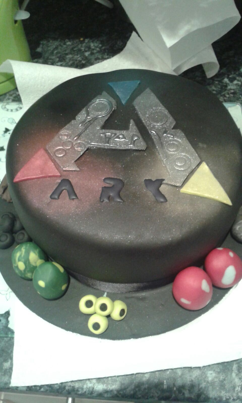 Ark cake survival cake and birthdays ark survival evolved cake forumfinder Gallery
