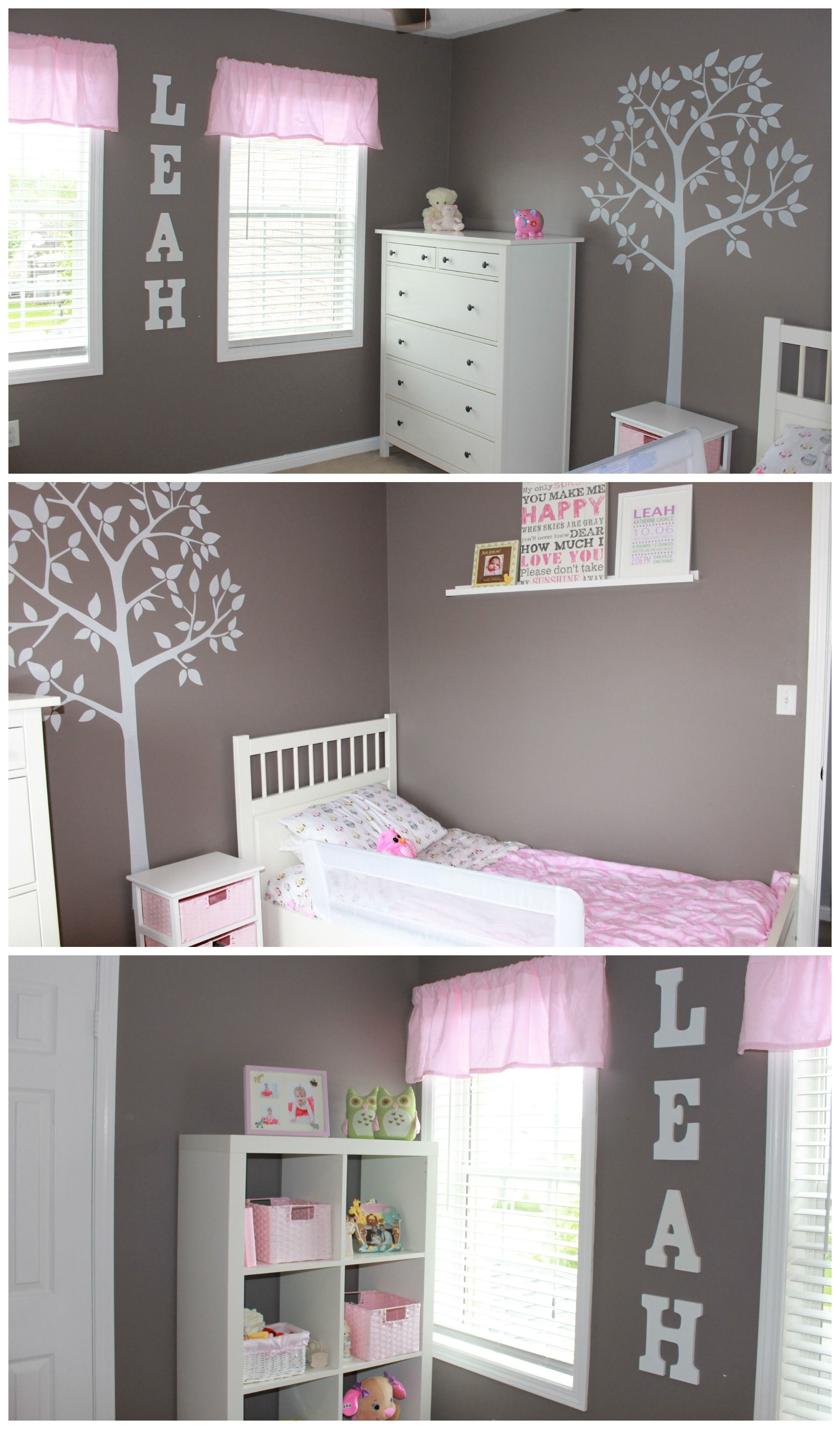 Amelia S Room Toddler Bedroom: Simple But Sophisticated Toddler Bedroom (on A Budget