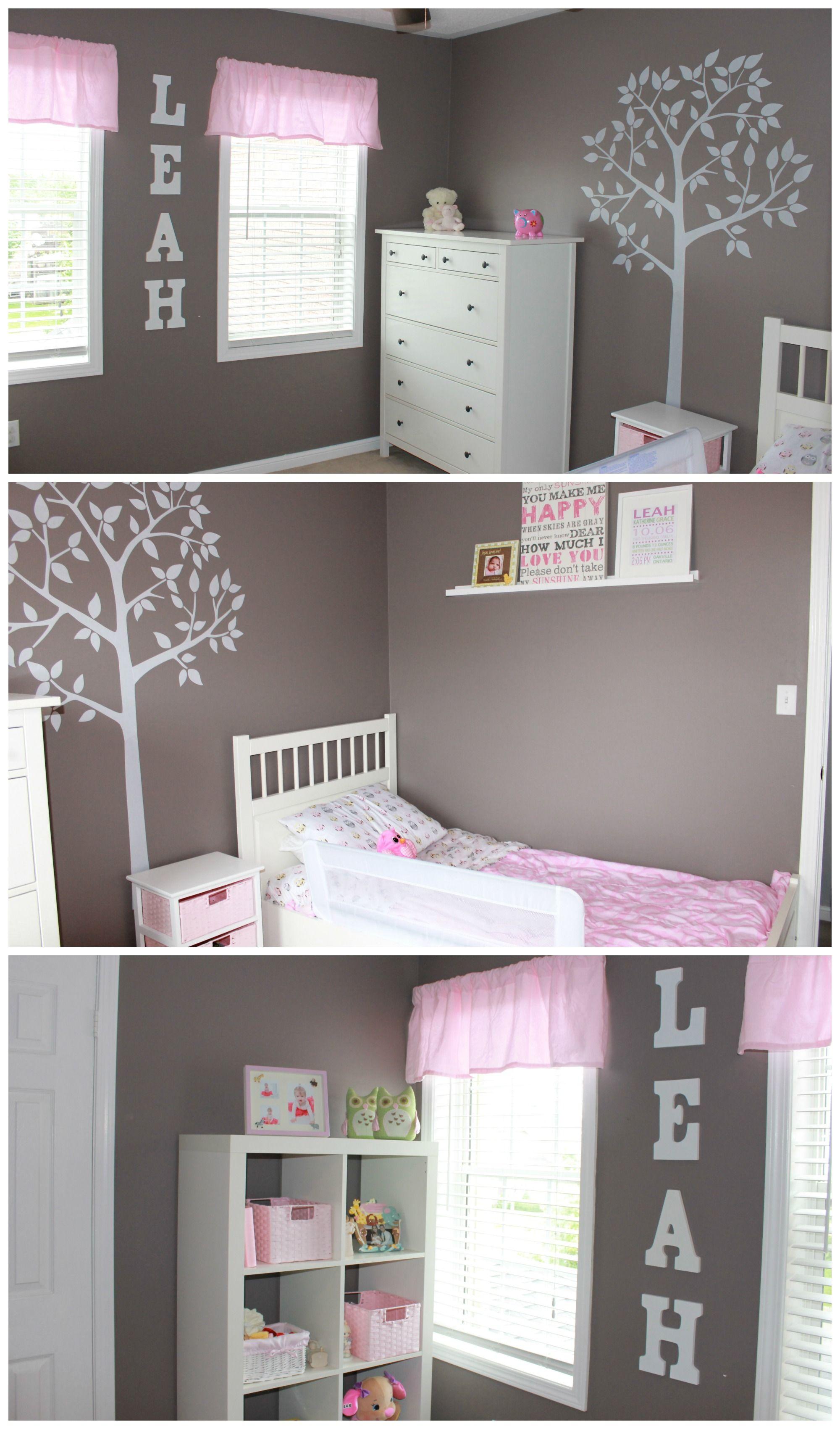 diy toddler girl room decor