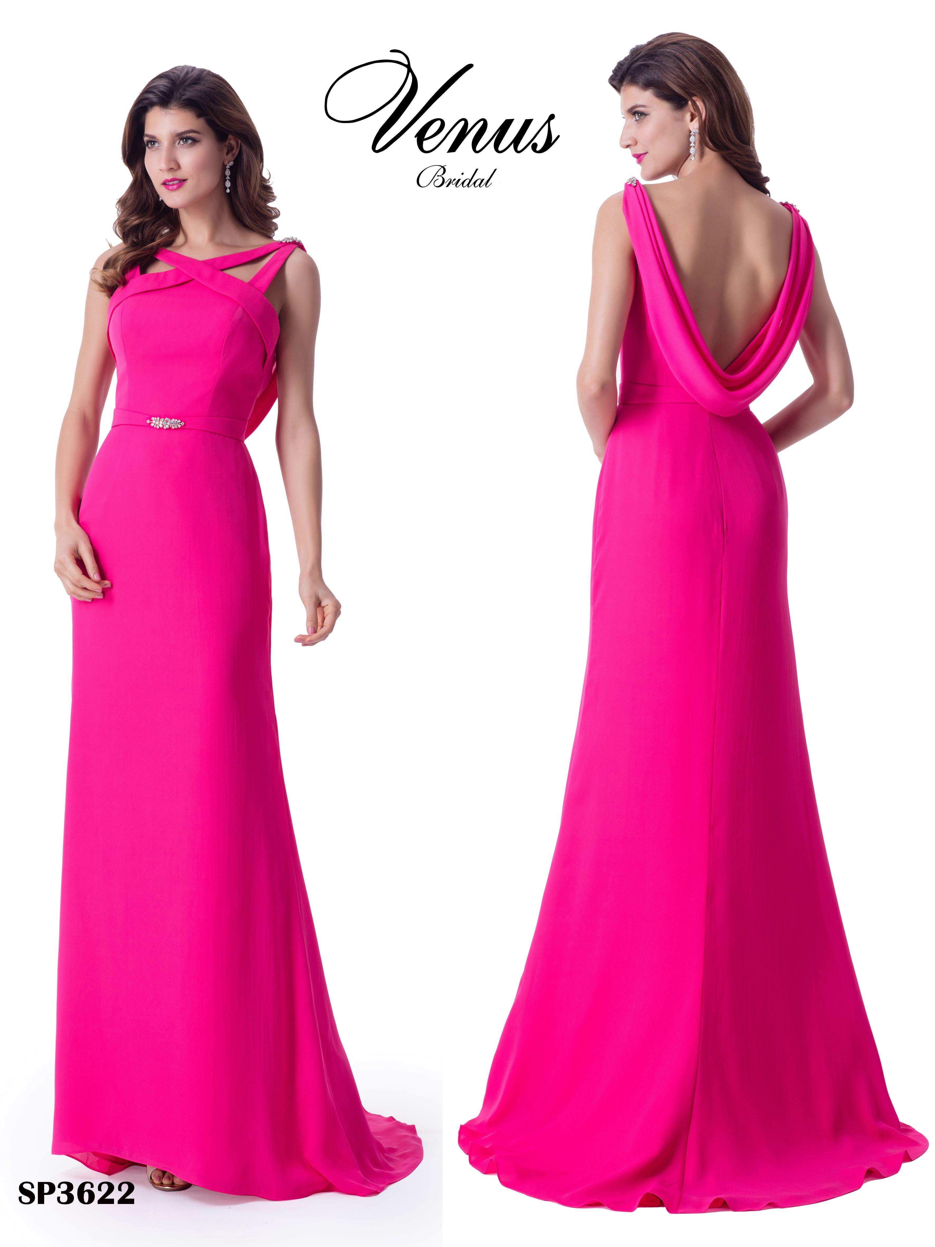 Lujo Rosa Rubor Vestidos De Dama Ornamento - Colección de Vestidos ...