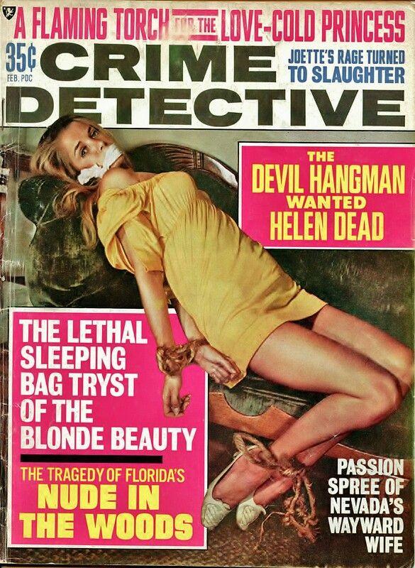 Vintage Magazine Covers Bondage Hogtie