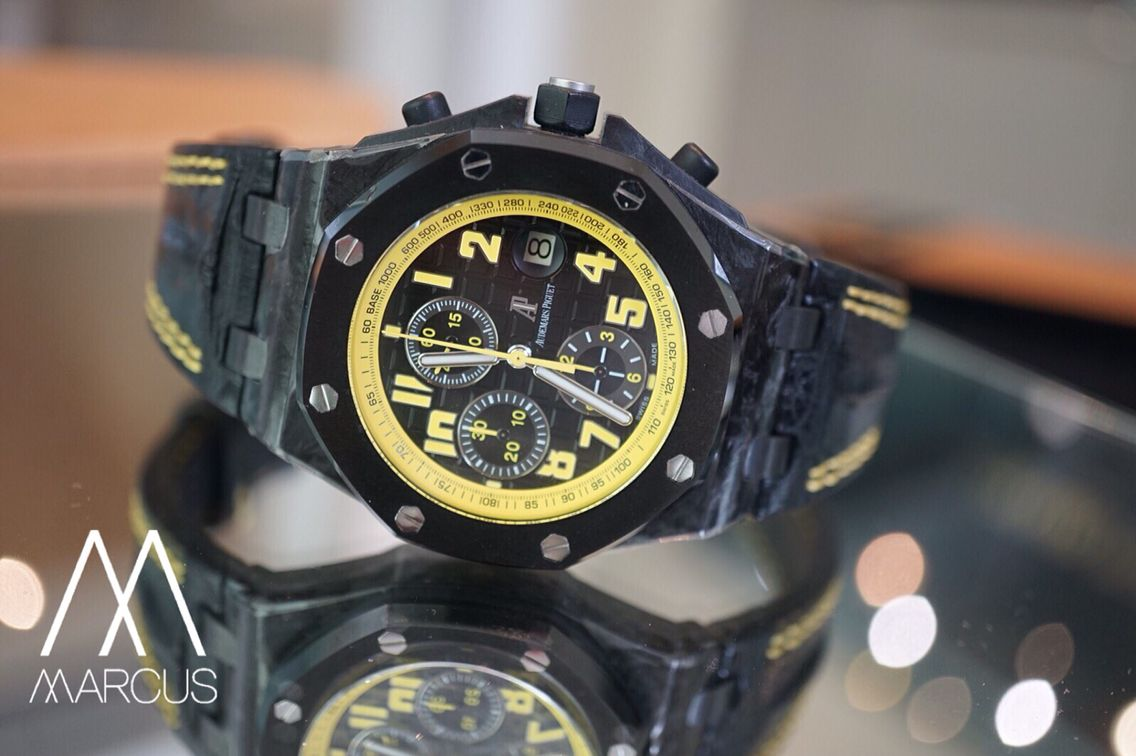 One my fave Audemars Piguet watch the Offshore Bumblebee | Marcus ...
