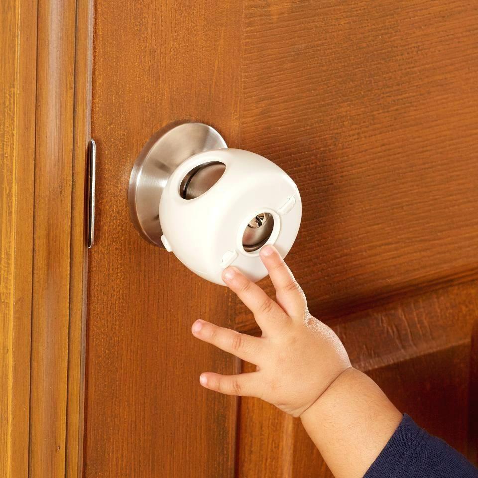 Door Knob Cover Lock Guard | http://retrocomputinggeek.com ...