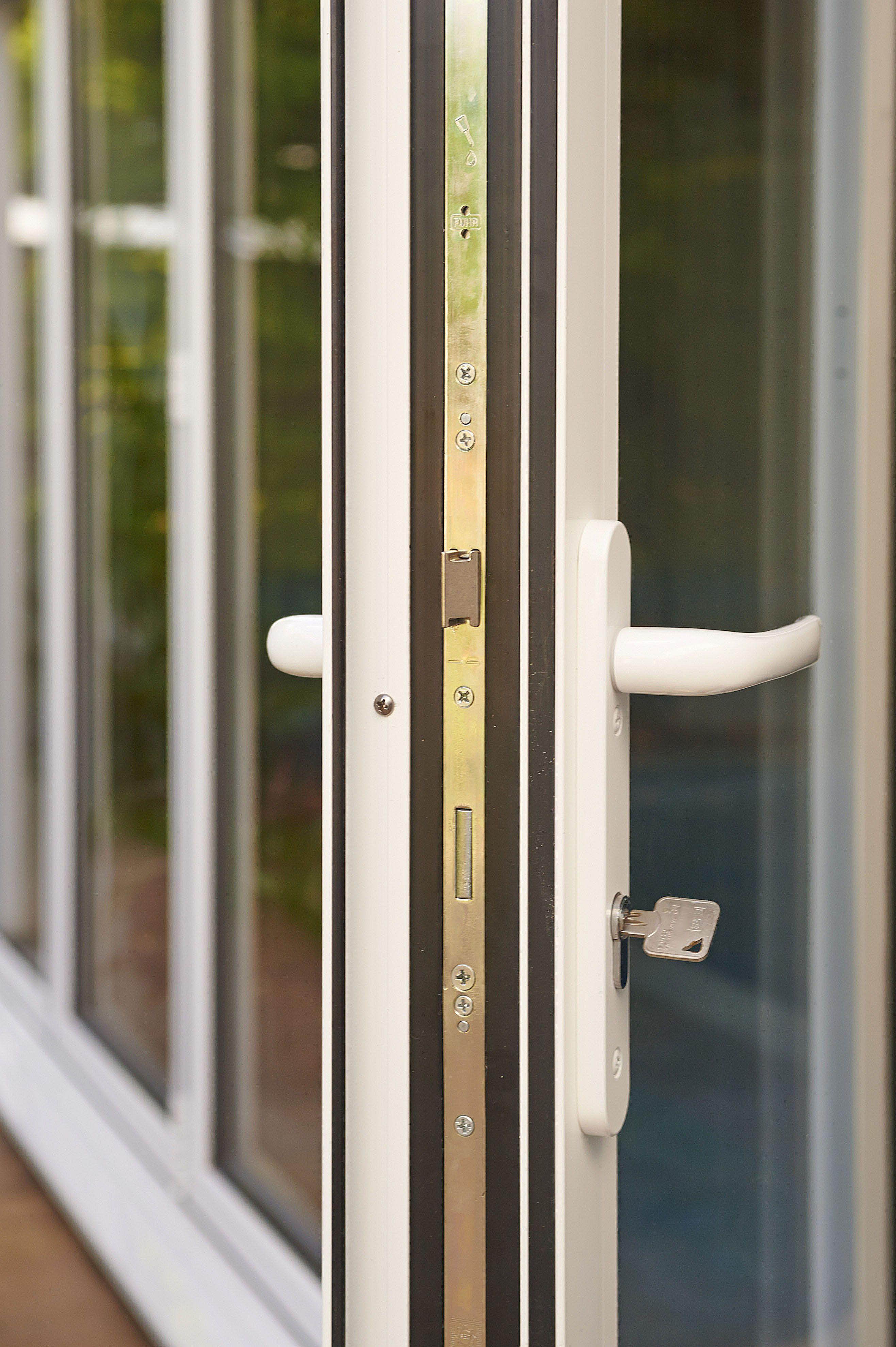 Real Aluminium Bi Fold Door Extend Your Home Into Your Garden Bifold Doors Sliding Door Panels Folding Doors