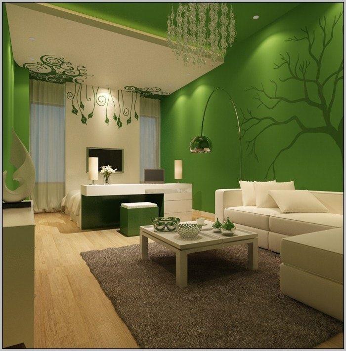 Beliebteste Grüne Farbe Farben Für Wohnzimmer Wohnzimmer Ideen Mit