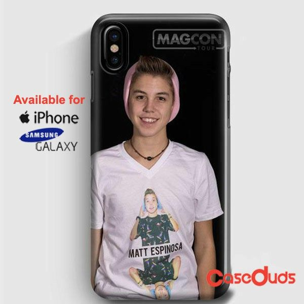 Matthew Espinosa Handsome iPhone X Cases, iPhone Case, Samsung Galaxy Case 414