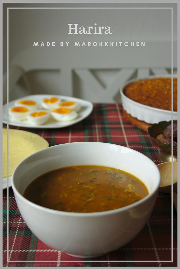 Ein Rezept für die marokkanische Fastensuppe mit Kichererbsen und Linsen. Sie darf bei keinem Ramadan fehlen. #levanteküche