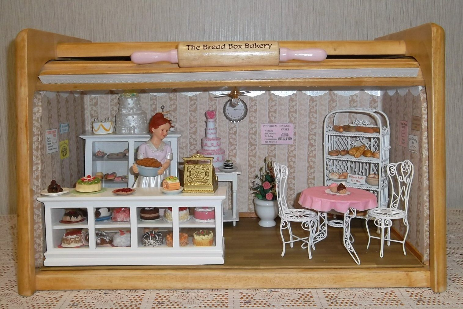 Doll HOUSE SCALE FRUIT STAND 1:12 Scale Miniature Scale Doll House Accessories 1zu12
