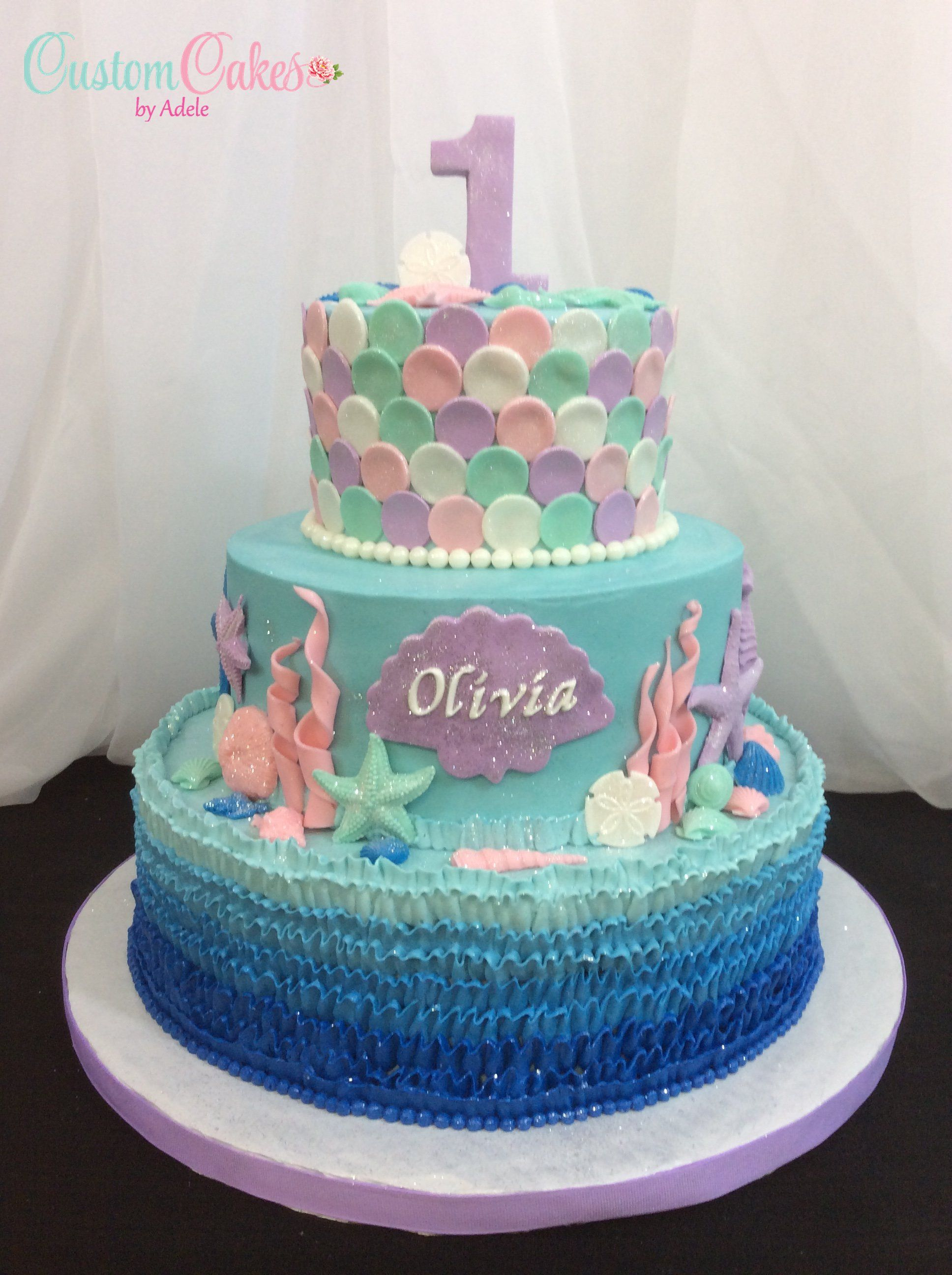 Sensational Under The Sea Theme Mermaid Theme For 1St Birthday With Images Funny Birthday Cards Online Eattedamsfinfo