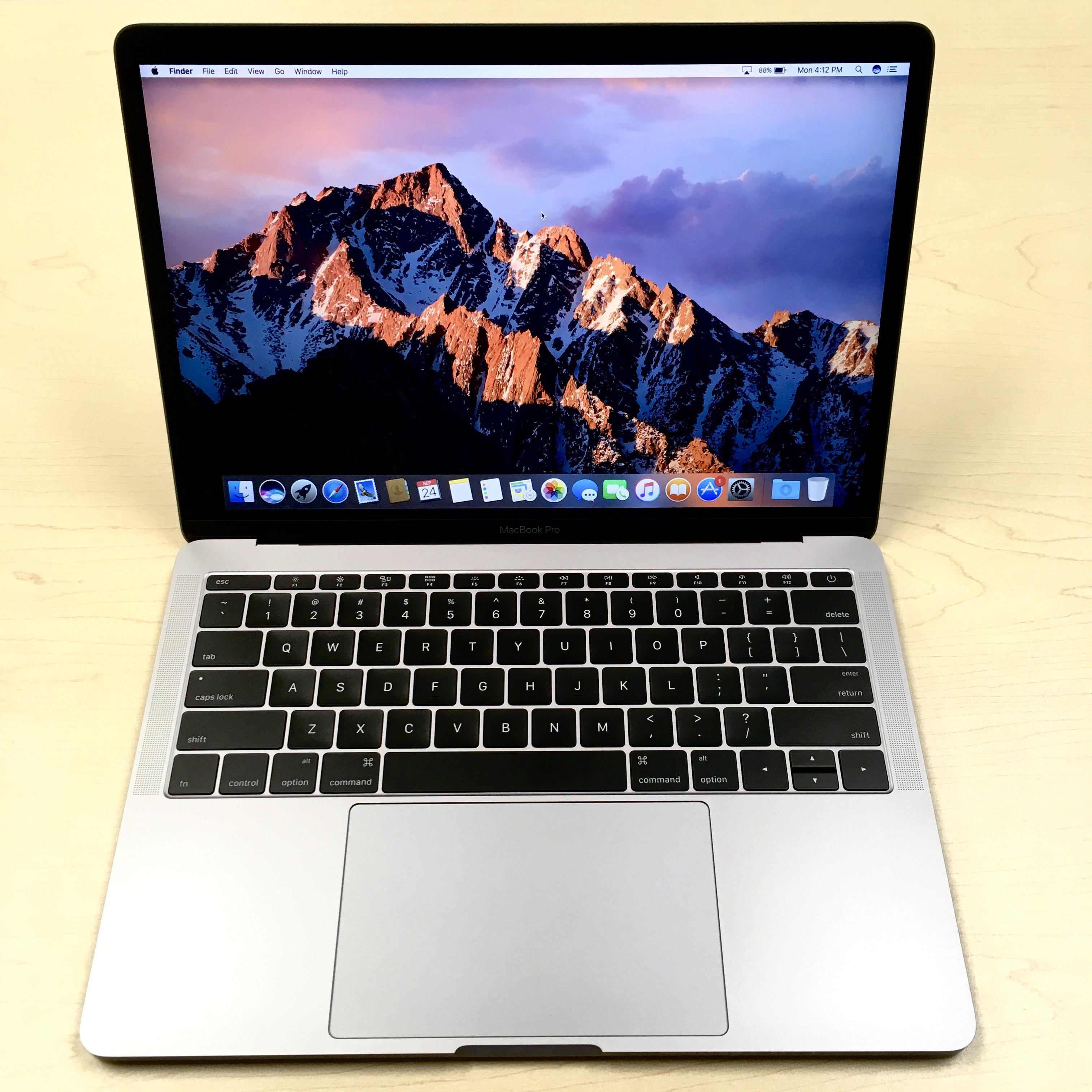 13inch MacBook Pro Retina® i5, 8GB, 256GB, Late 2016