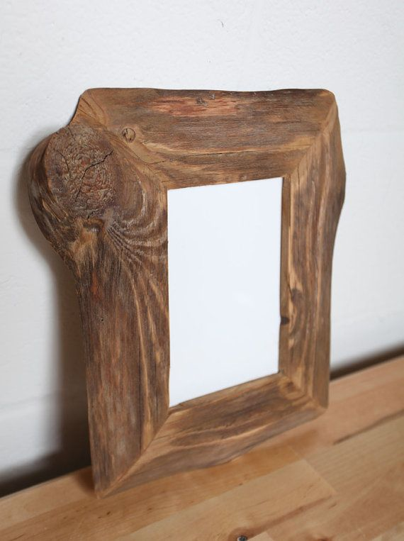 Reclaimed Farm Wood Artwork or Photo Frame 5x7 | Madera
