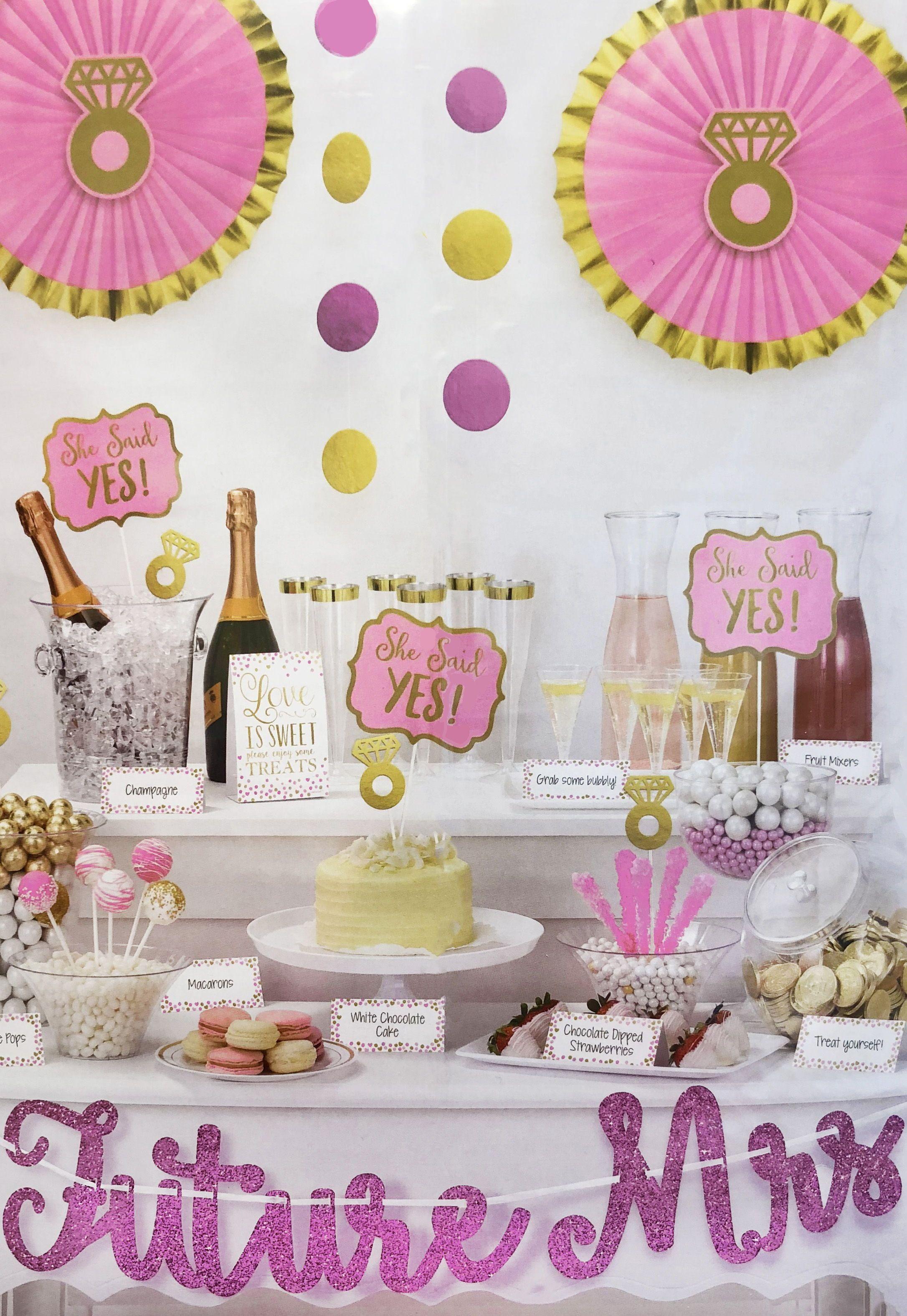 23pc Future Mrs Decoration Kit Bachelorette Party Supplies