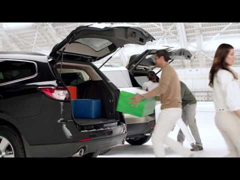 Chevy Traverse Tetris With Cargo Space Chevrolet Youtube