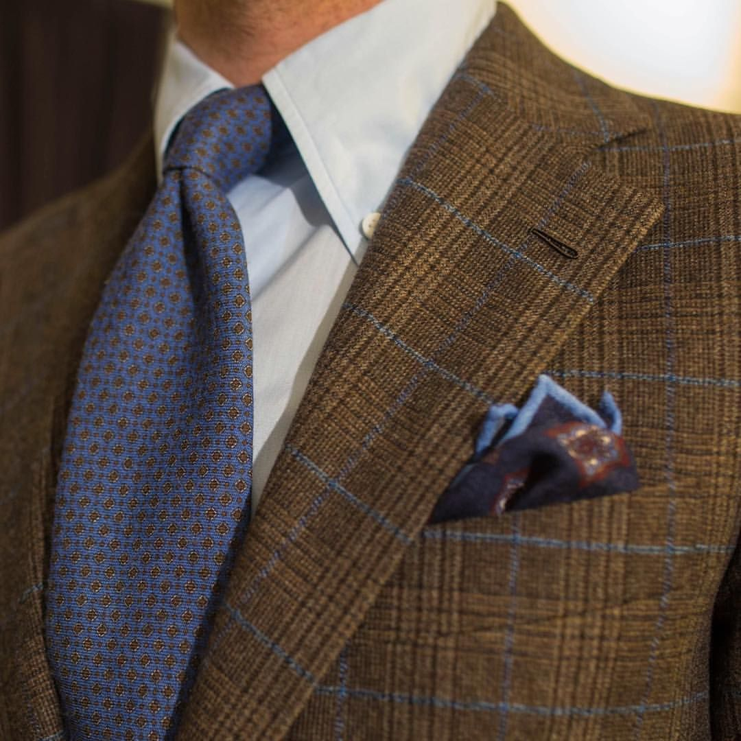 Sartorial inspirations — Brown flannel   #wiwt #lookbook #apparel #mnswr...