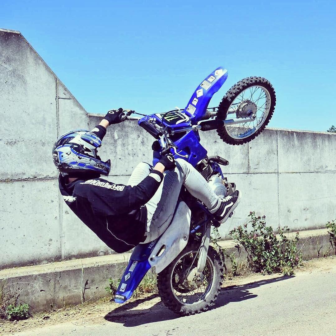Clutch It Gas It Raise It Live It Yamaha Ttr125 Wheelie
