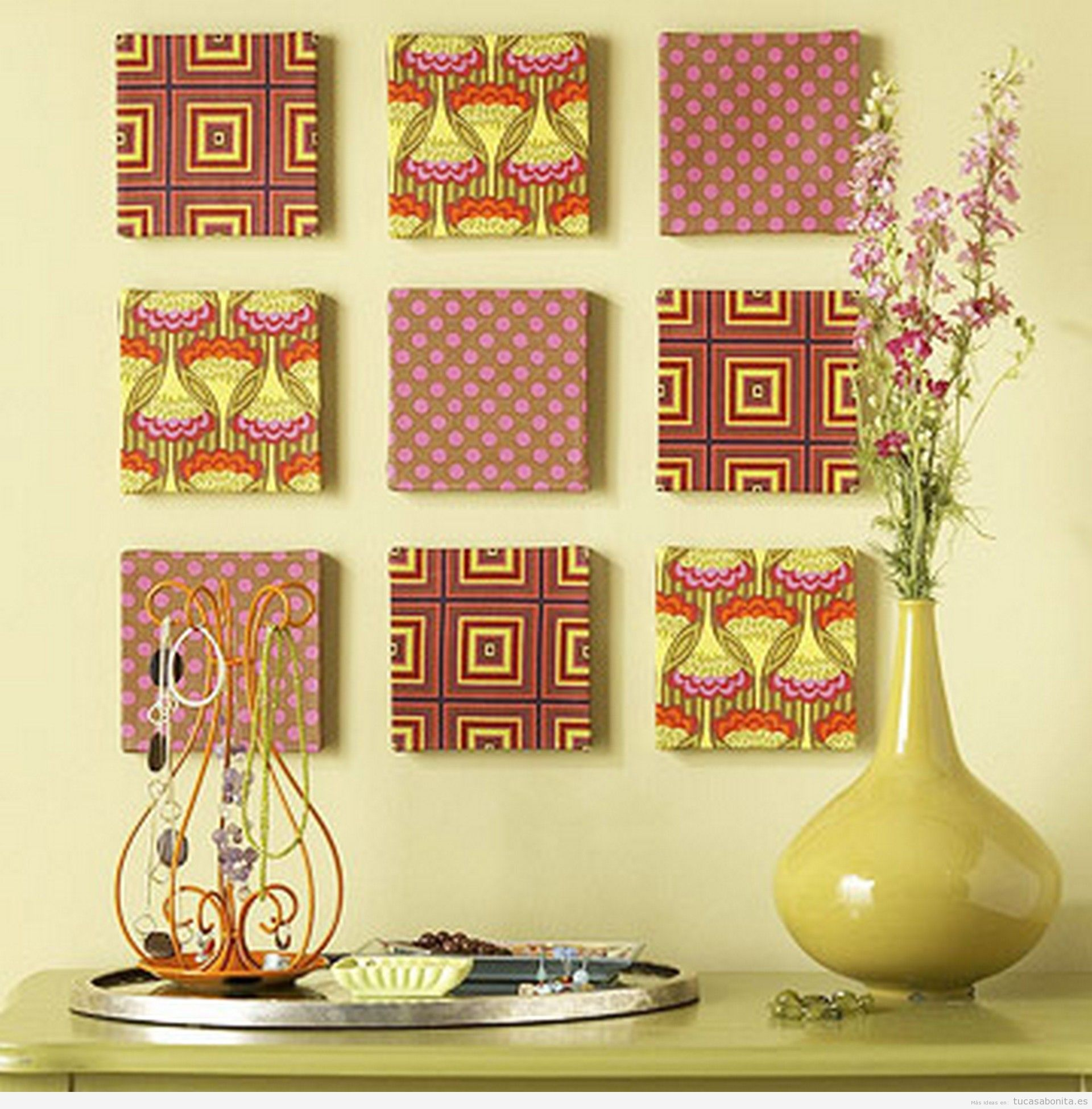 Resultado de imagen de articulos de tela para el hogar for Accesorios para decorar la casa