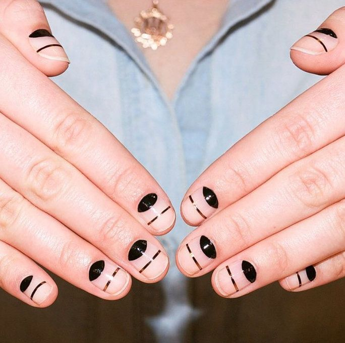 5 New Nail Designs That Are Really Easy to DIY | Uñas de colores ...