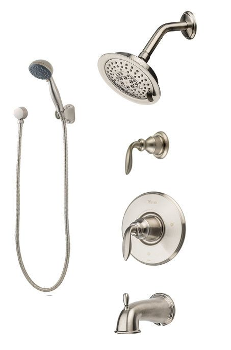 Pfister T89 8cb Shower Systems Shower Heads Tub Spout