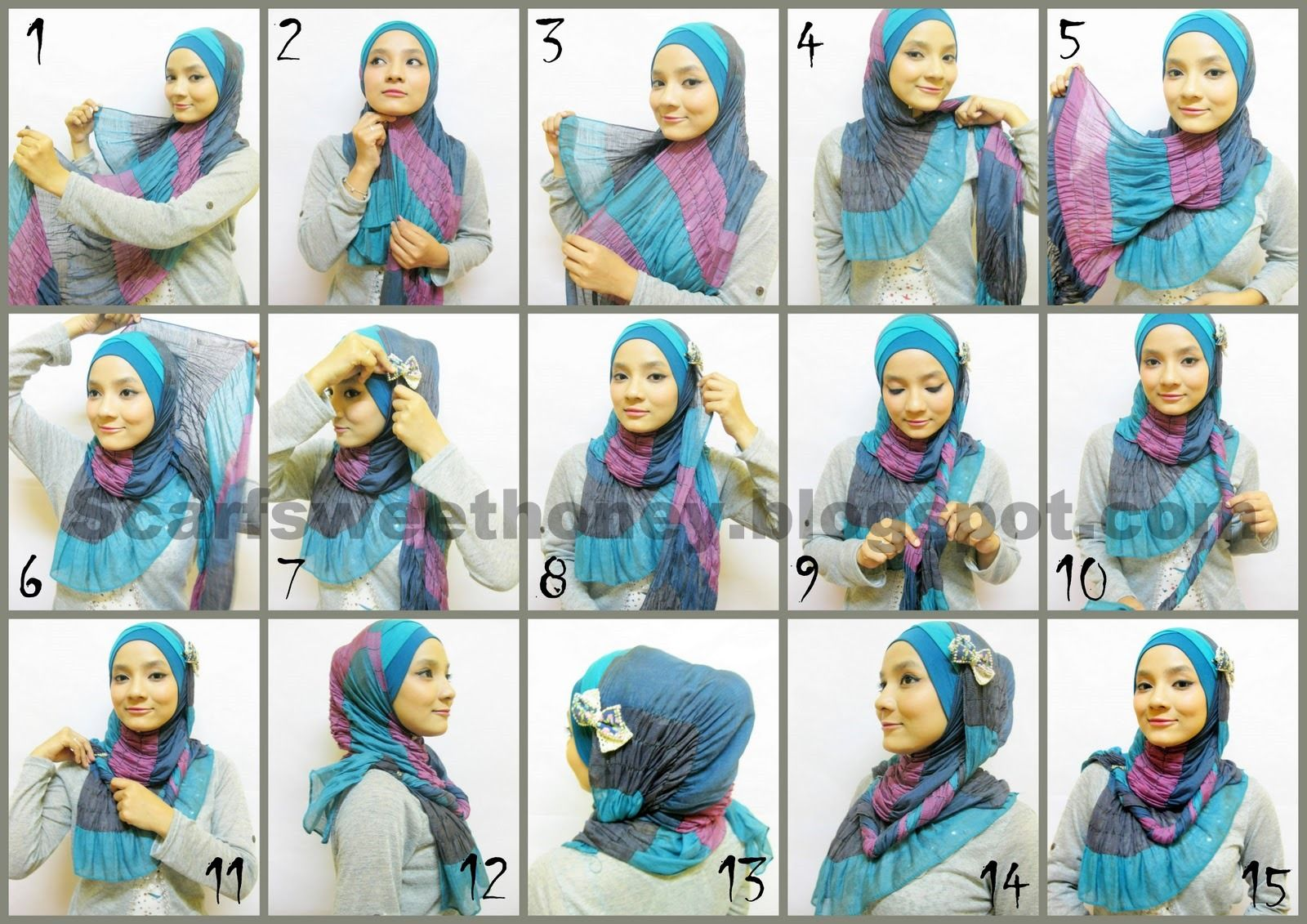 Httutorial Hijab Indonesia Mignonesia Islamic Fashion Part 2 How