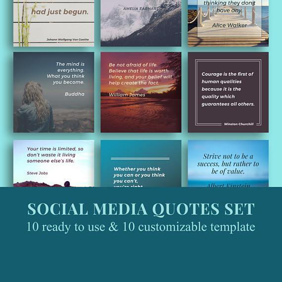 Social Media Templates Instagram Quotes Quotes Templates