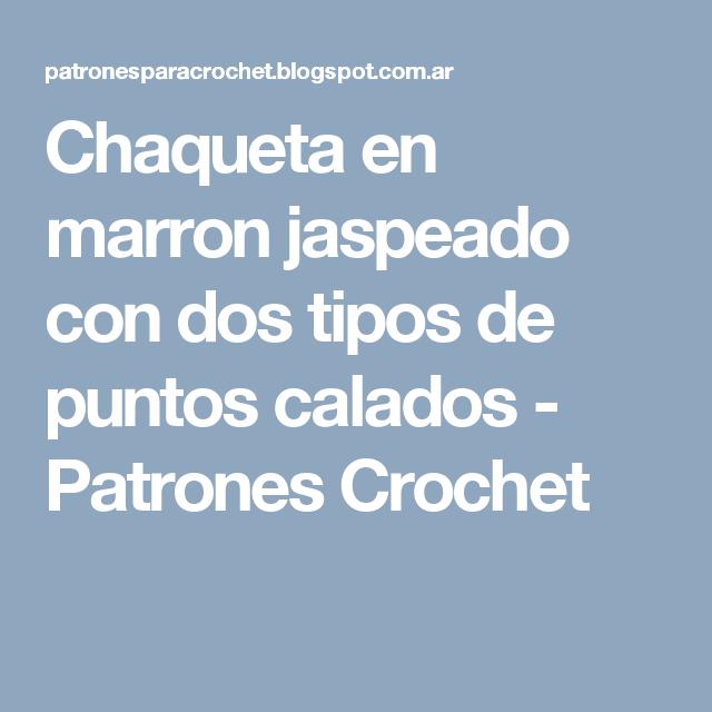 Famoso Patrones Libres Punto Y Ganchillo Hoy Componente - Ideas de ...