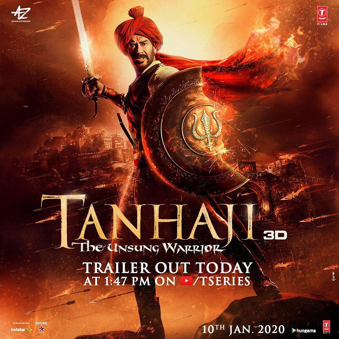 TanHaji Bollywood Movie (2020) First Look Warrior movie