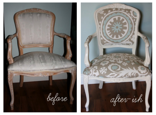 Louis Chair DIY Makeover So. I Caved. I Was Supposed To Wait Until My  Wingback Chair Was Done Before I Refinished My Louis XV Chair. Sooou2026 It  Really.