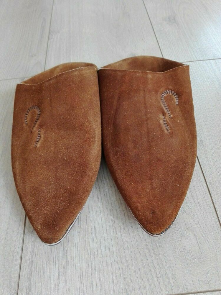 92fd7cc7a10 Moroccan Slippers Babouche Leather Traditional Slipper for Men 100 ...